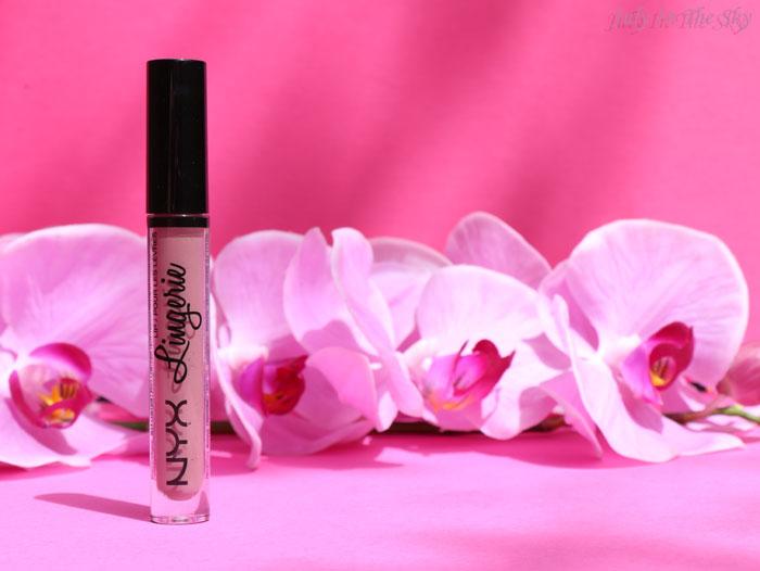 blog beauté lip lingerie nyx embellishment