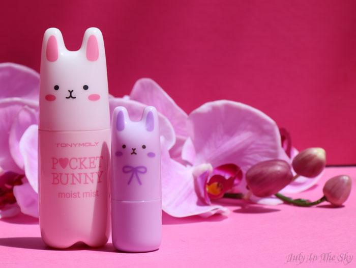 July In The Sky : blog beauté tonymoly parfum pocket bunny brume
