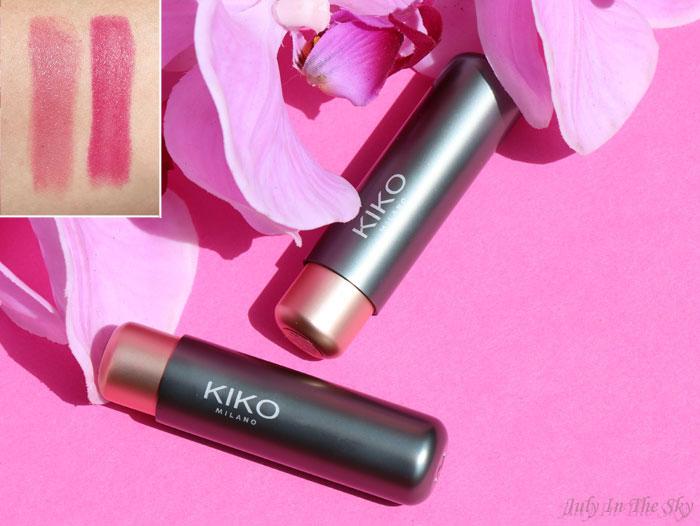 blog beauté velvet passion matte lipstick kiko