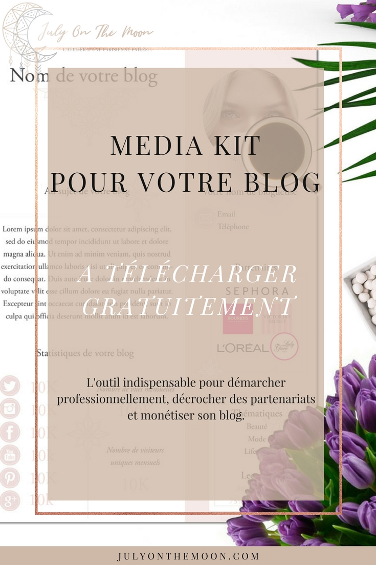 blog photographie media kit telecharger gratuit