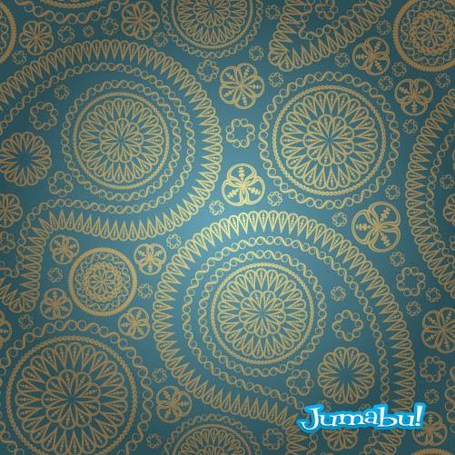 Empapelado-antiguo-ornamentos-arabescos-fondos-colores