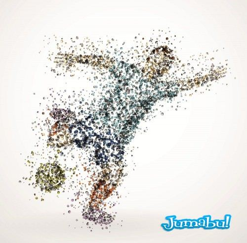 Gfxsources.com Sports Illustrations colored drops 4 500x491 - Siluetas Deportistas Vectorizadas