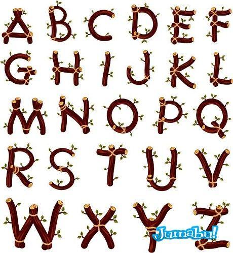 alfabeto-naturaleza-letras-tipografias-ramas