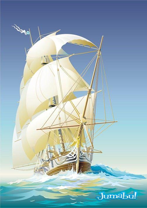 barcos-vectorizados
