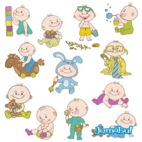 bebes-vectorizados