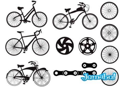 bicicletas-vectorizadas-siluetas (2)