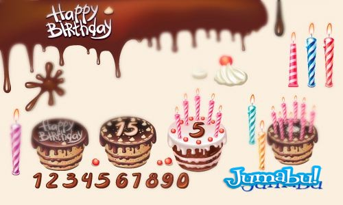 birthday-vectors
