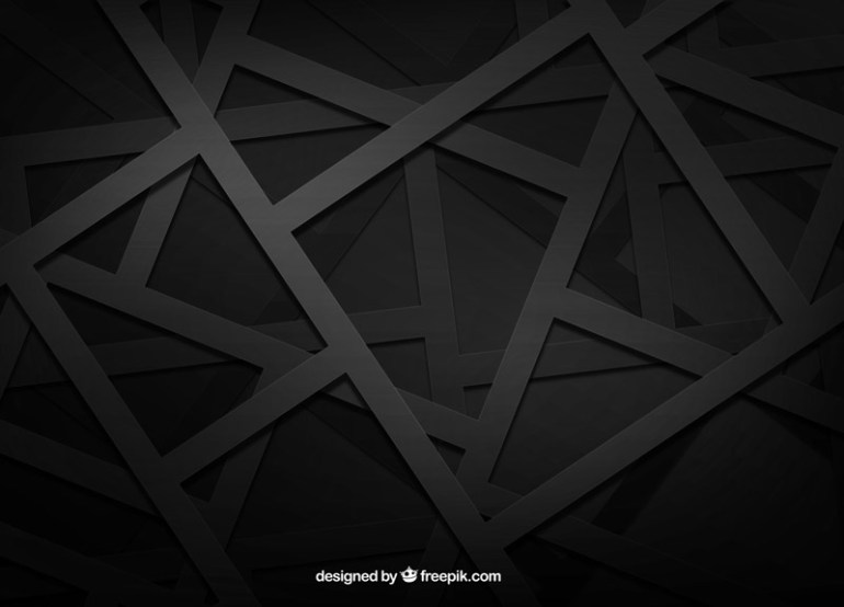 black-background-vector-geometric