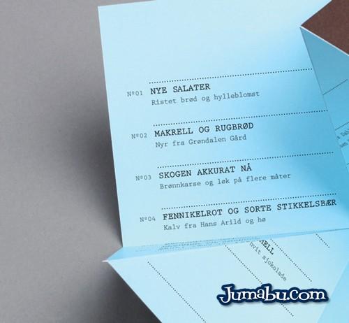 carta menu resto - Material de Inspiración para Crear un Menú con Diseño Original