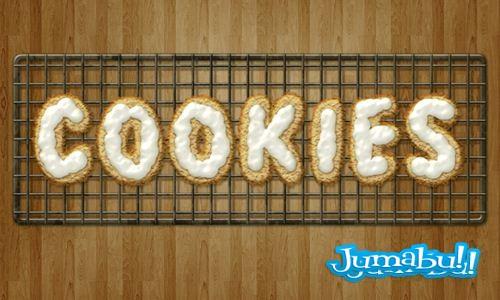 cookies psd - Cookies Horneadas en Photoshop