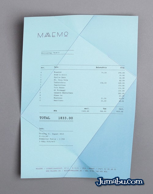 desplegable carta menu - Material de Inspiración para Crear un Menú con Diseño Original