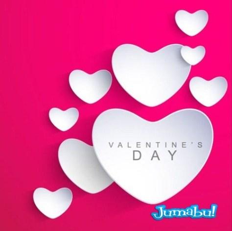 vectoriales-corazones-papel-doblado