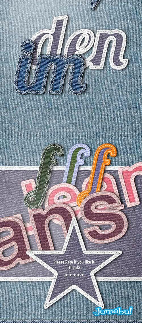 efecto jean photoshop - Efecto Jeans con Acción para Photoshop