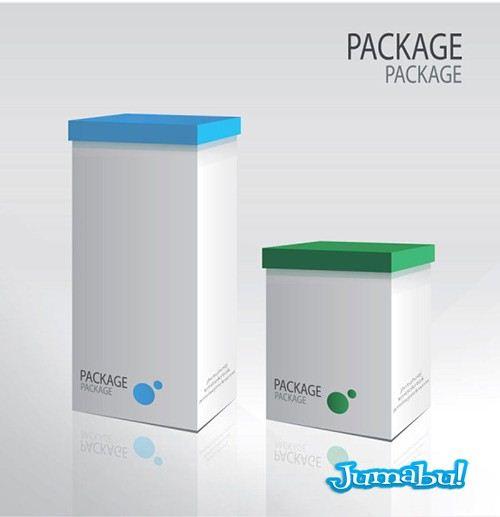 embalajes vectores cajas perfumeria - Packs, Cajas, Embalajes para productos en Vectores