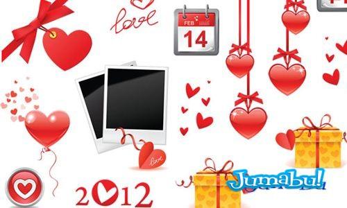 enamorados vectores 2012 - Vectores para enamorados 2012
