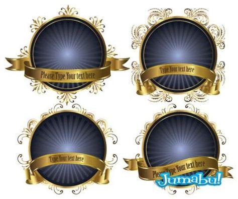 etiquetas-azules-vectores-stikers-circulares