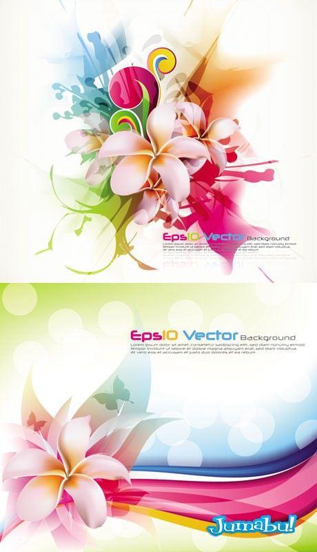 flores-vectores-colores