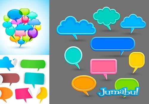 globos-dialogo-planos-coloridos-vectoriales