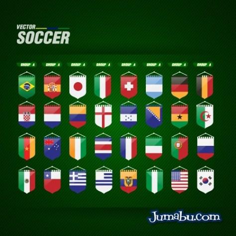 grupos-mundial-brasil-2014-vectores