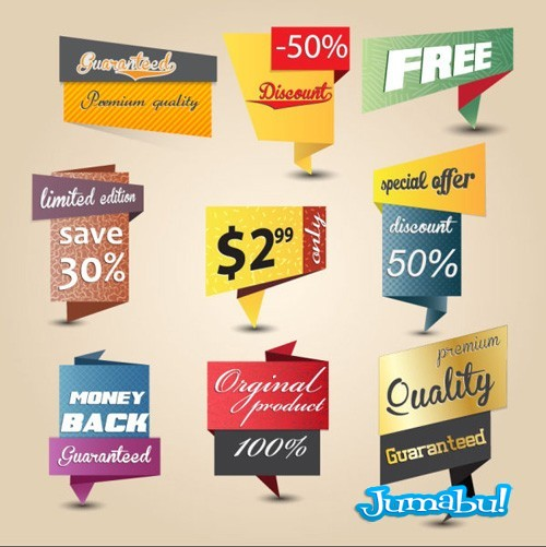 inserts-tags-precios-ofertas-en-vectores
