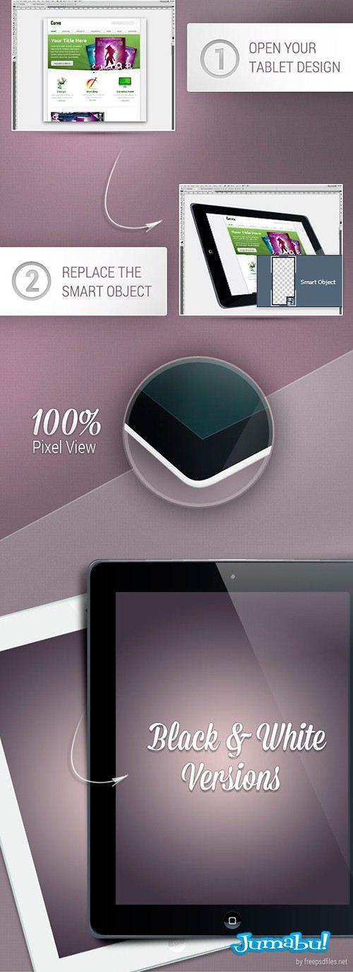 Ipad Mock Up para Presentar tus Proyectos | Jumabu