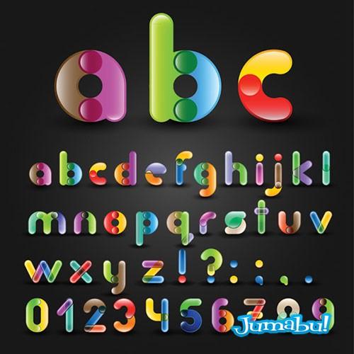 letras-alfabeto-reondeadas-coloridas