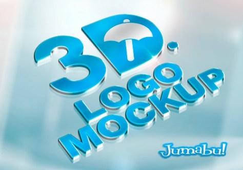 logo-3d-mock-up-photoshop-metalico