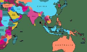 mapa-africa-australia-vectores
