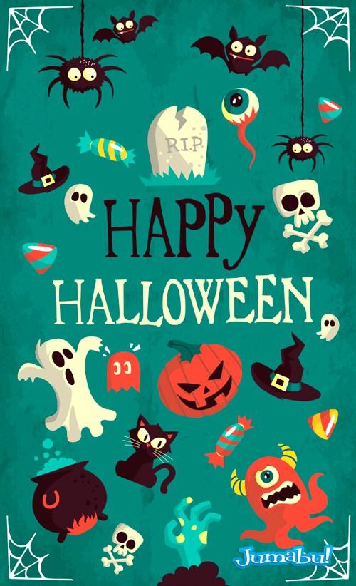 monstruos-halloween-vectorizados