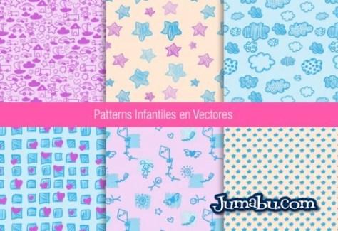 patterns-vectores-bebes