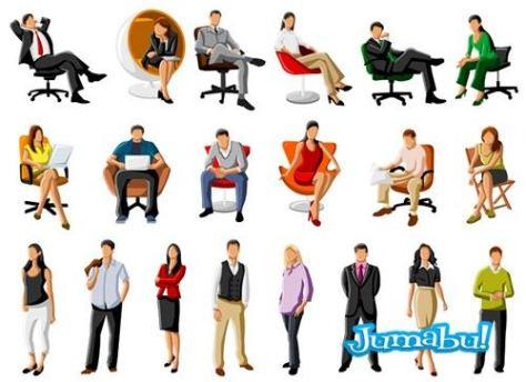 personas-sentadas-dibujos