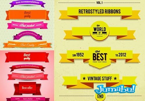 ribbons-vectoriales-cintas-vectores