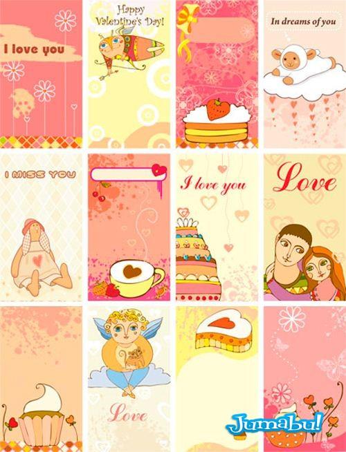 tarjetas dia san valentin - Tarjetas Día de los Enamorados
