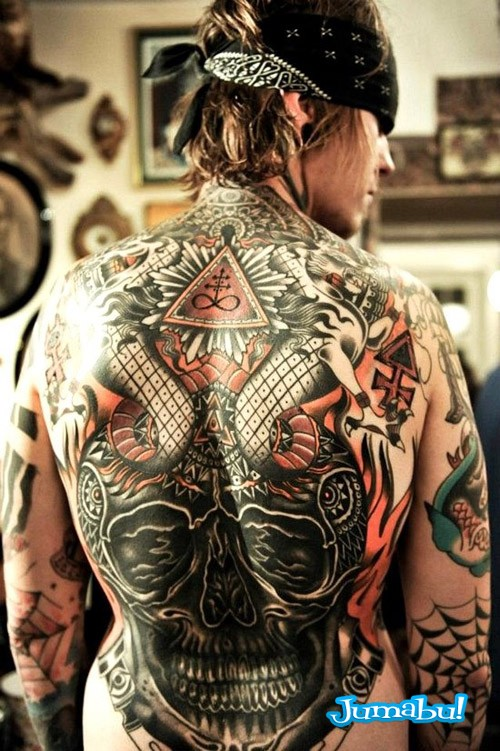 tattoo full espalda hombre - Modelos de Tatuajes en Mujeres y Hombres