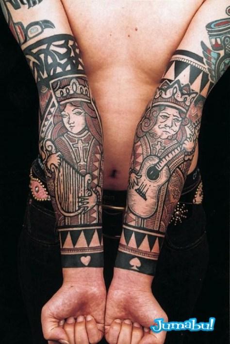 tatuajes-brazos-rey-reina