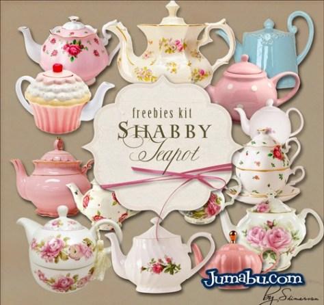 teteras-cafeteras-porcelanna-florales-antiguas