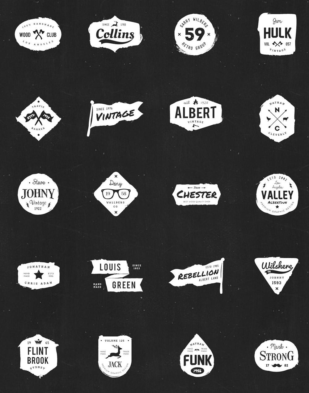 vectores-logos-viejos-anejados