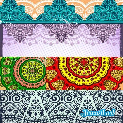 vectores mandalas disno - Vectores para Diseño de Mandalas