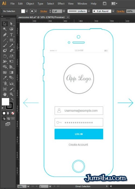 wireframe-apple-iphone