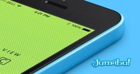 003-iphone-5C-mobile-celular-multicolors-isometric-view-3d-mock-up-psd