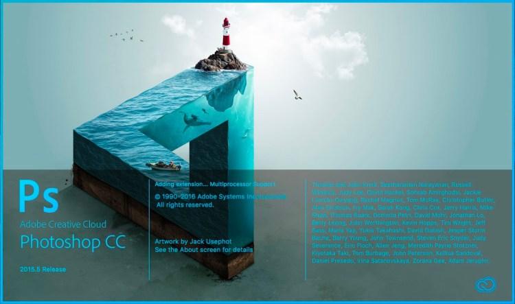 adobe photoshop cc pantalla 2015 1024x605 - La evolución de Adobe Photoshop año tras año