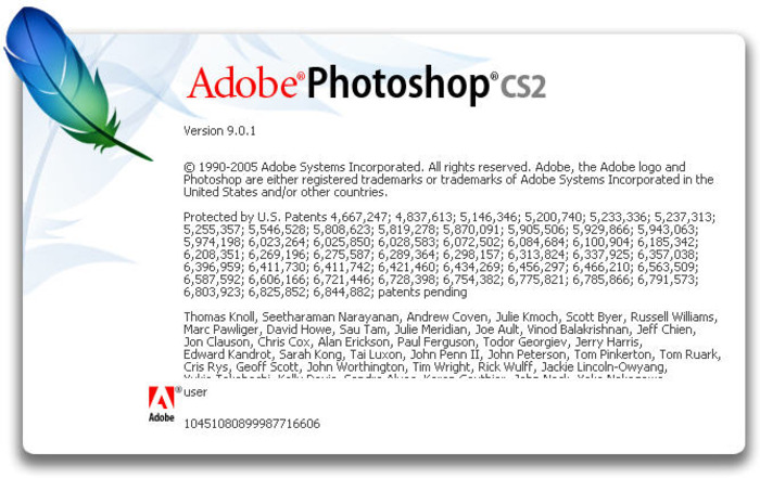 adobe photoshop cs2 pantalla 2005 - La evolución de Adobe Photoshop año tras año