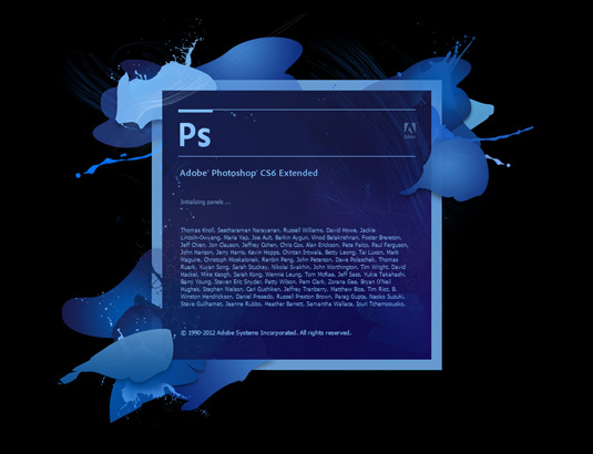 adobe photoshop cs6 pantalla 2012 - La evolución de Adobe Photoshop año tras año