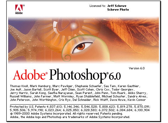 adobe photoshop pantalla 2000 - La evolución de Adobe Photoshop año tras año
