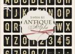 alfabeto antiguo vintage - Abecedario Antiguo de Carteles Aeropuerto