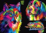 animales vectoriales coloridos - Excelentes Ilustraciones de Animales en Vectores Super Coloridos