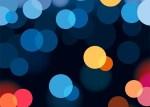 background circulitos luminosos - Fondo Vectorizado con Circulitos de Colores