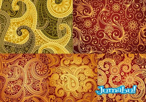 backgrounds-vectores-ornamentales-arabescos