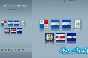 flags central continent