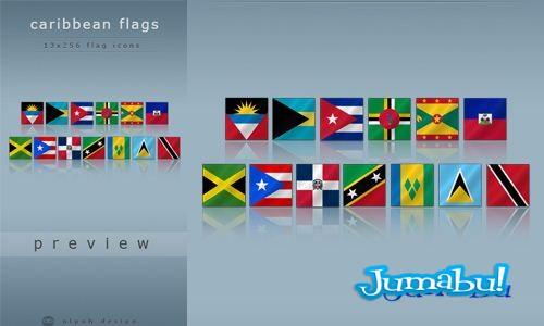 caribe-caribean-flags